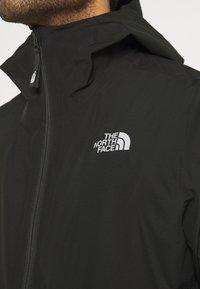 The North Face - WATERPROOF FANORAK - Hardshell jacket - black - 3