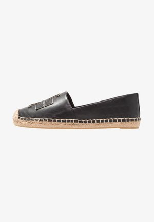 INES - Espadrilles - perfect black/silver
