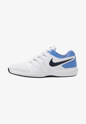 AIR ZOOM PRESTIGE CPT - Carpet court tennis shoes - white/obsidian/royal pulse