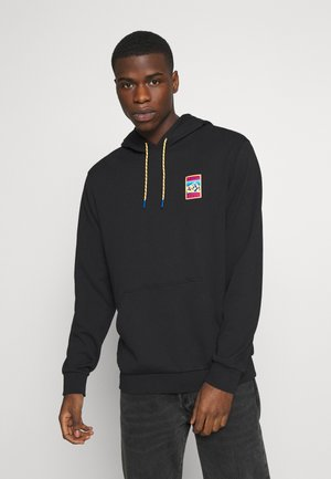 HOODIE SPORTS INSPIRED  - Mikina s kapucí - black
