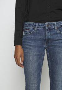 Tommy Jeans - SOPHIE ANKLE ZIP  - Jeans Skinny Fit - jasper mid blue - 5