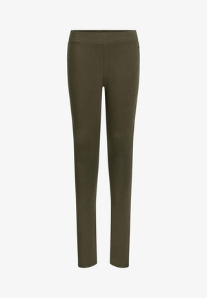 Leggings - Trousers - olive green