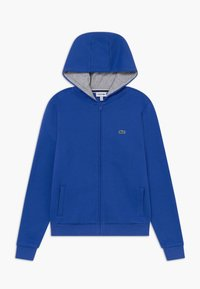 Lacoste Sport - TENNIS - Mikina na zip - blue/light grey - 0