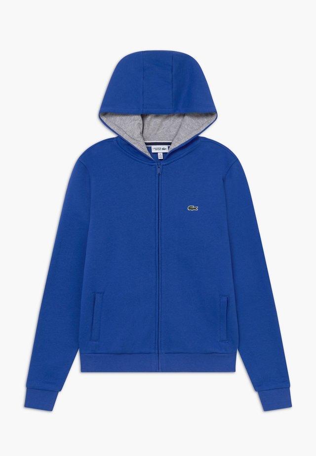 TENNIS - Zip-up hoodie - blue/light grey