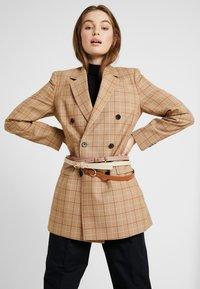 Anna Field - 3 PACK - Waist belt - cognac/rose/beige - 1