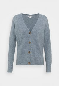 Esprit - BUTTON CARDI - Kardigan - light blue lavender - 0