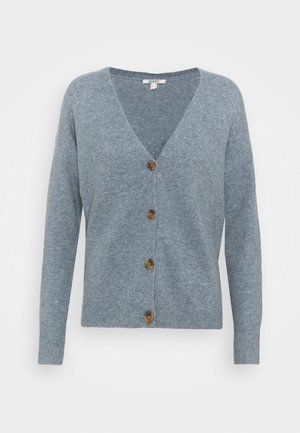 BUTTON CARDI - Kardigan - light blue lavender