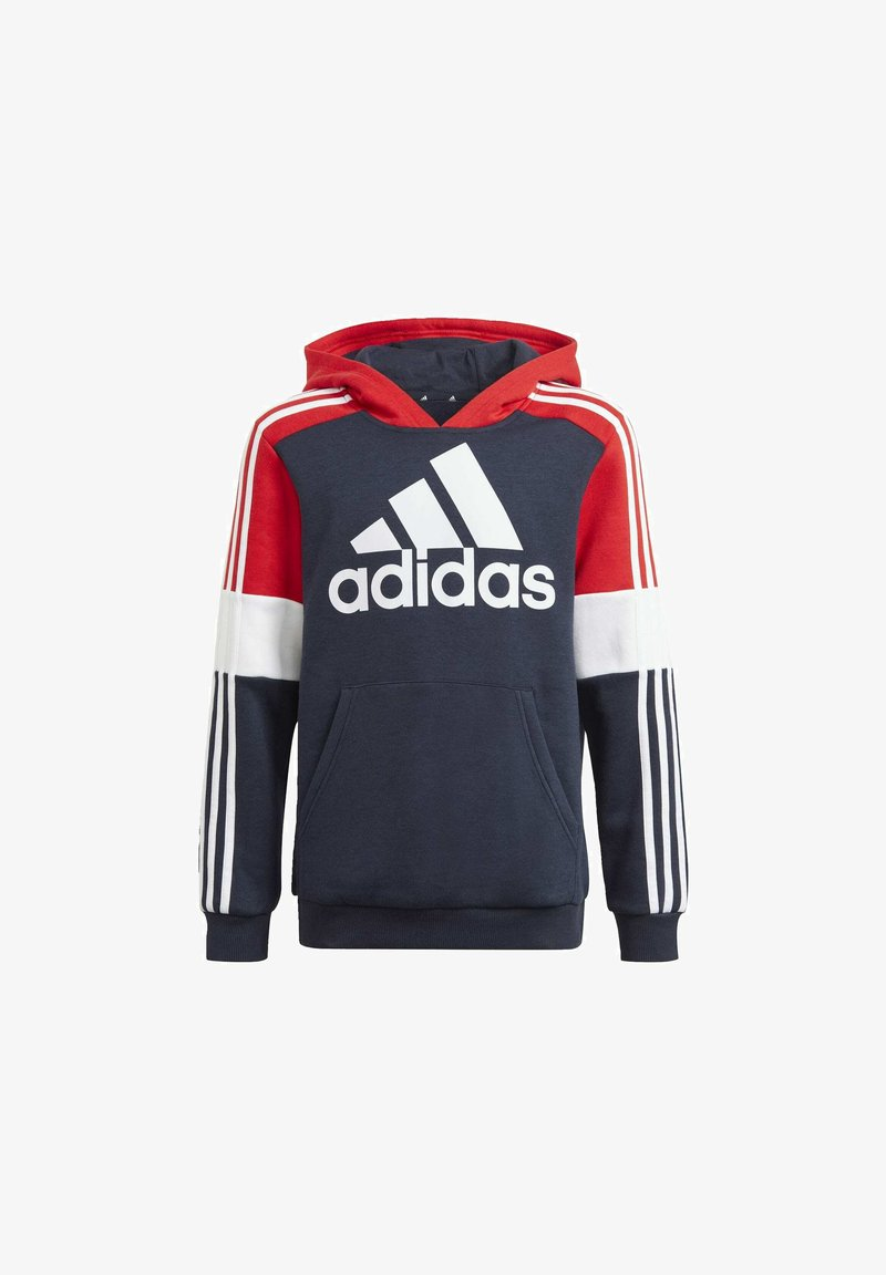adidas Performance - Jersey con capucha - legend ink/vivid red/white