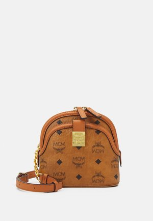 ANNA VISETOS CROSSBODY MINI - Across body bag - cognac