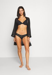 aerie - GARDEN PARTY SHINE - Slip - true black - 1