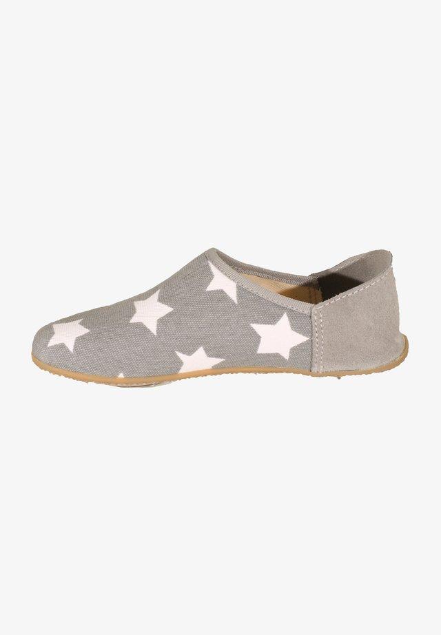 Pantoffels - hellgrau