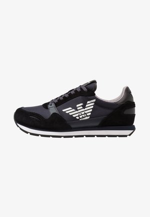 Trainers - black/blue