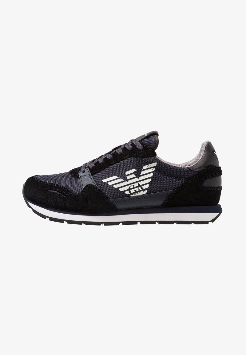 Emporio Armani - Trainers - black/blue