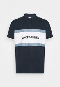 Jack & Jones - JJSHAKE  - Polo shirt - navy blazer - 0