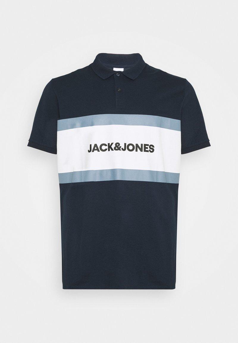Jack & Jones - JJSHAKE  - Polo shirt - navy blazer