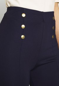 Anna Field - Punto leggings with button detail - Leggings - dark blue - 5