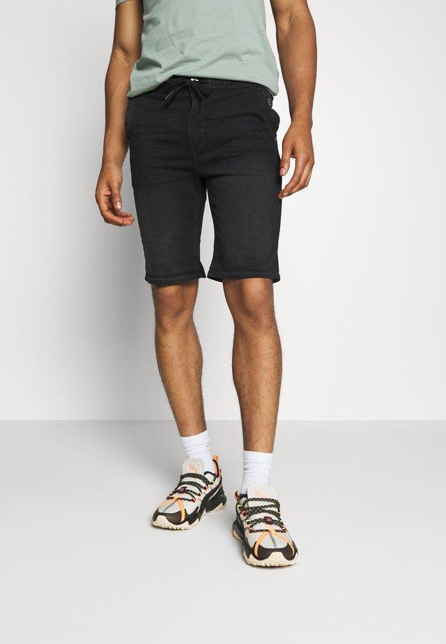 Szorty jeansowe - denim black