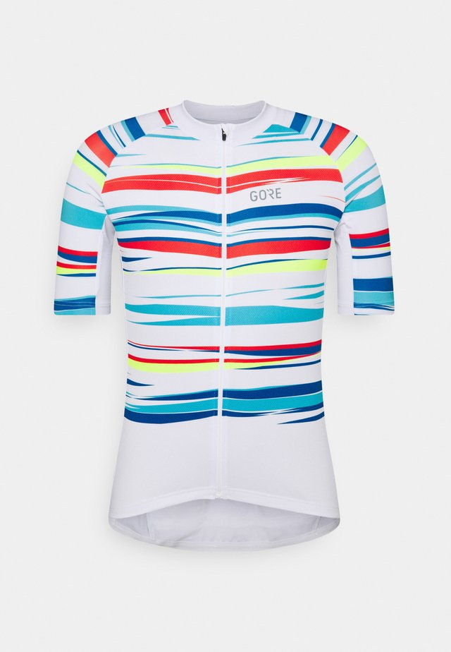 SAVANA MENS - T-shirt imprimé - white/multicolor