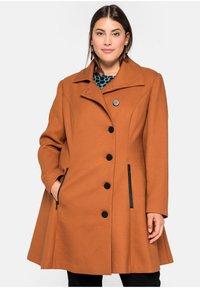 Sheego - Classic coat - cognac - 0