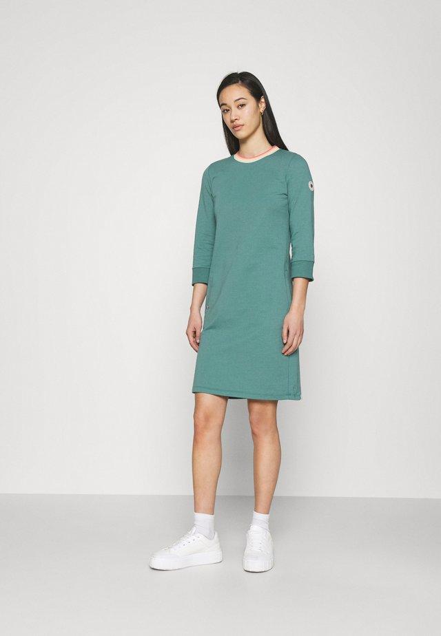 ALODIE - Korte jurk - dusty green