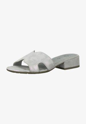 JANA - Pantofle - grey/silver
