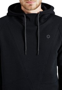 Jack & Jones - JCOPINN HOOD REGULAR FIT - Sweat à capuche - black - 2