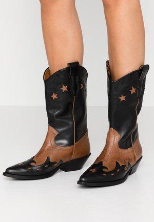 Cowboy/Biker boots - rock