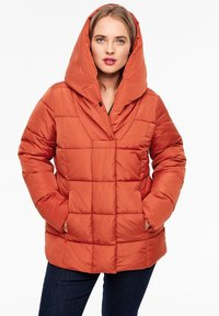 Triangle - MIT SCHALKRAGEN - Winter jacket - orange - 0