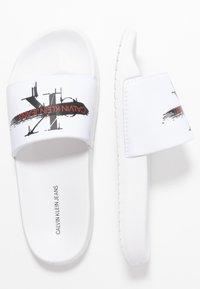 Calvin Klein Jeans - CASSIOPEA - Mules - white - 3