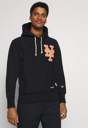 MLB PREMIUM NEW YORK METS HOODED - Huppari - black