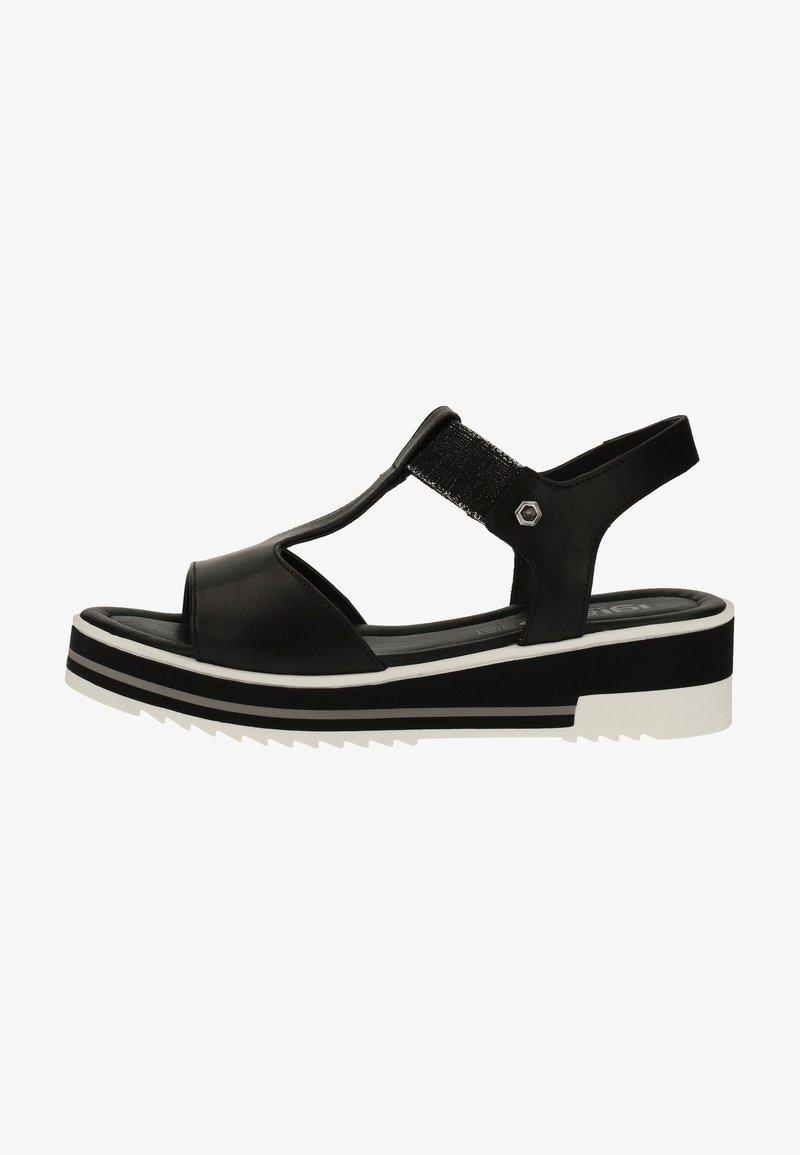 IGI&CO - Sandalen met sleehak - black