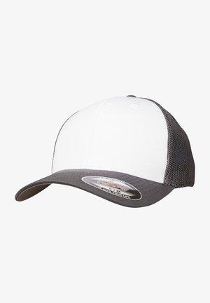 Cap - darkgrey and white