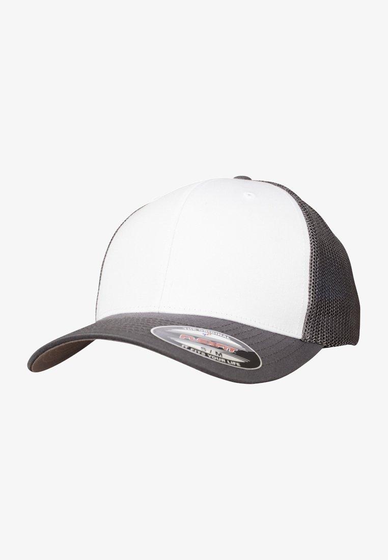 Flexfit - Cap - darkgrey and white