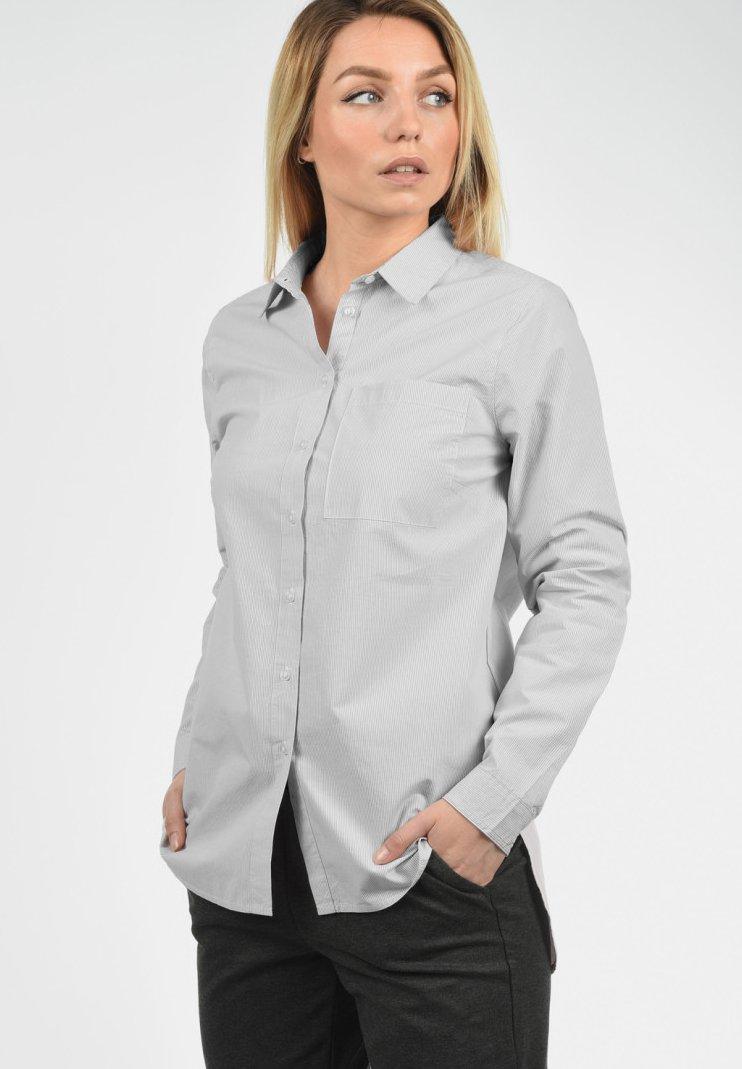 Desires - DRINA - Button-down blouse - mid grey