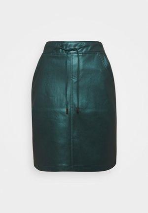 SKIRT SHORT FANCY - Blyantnederdel / pencil skirts - harbor blue