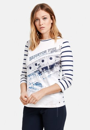3/4 ARM - Long sleeved top - white