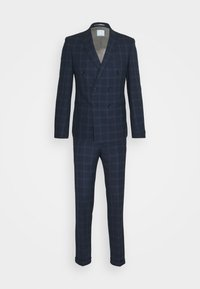 Viggo - TENN DOUBLE BREASTED SUIT - Oblek - navy - 12