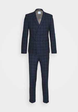TENN DOUBLE BREASTED SUIT - Completo - navy