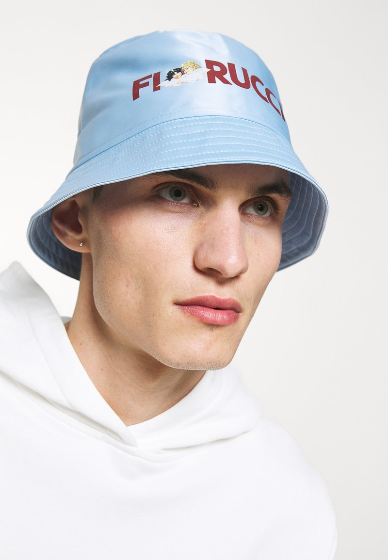 Fiorucci - LOGO ANGELS BUCKET HAT UNISEX - Hat - pale blue