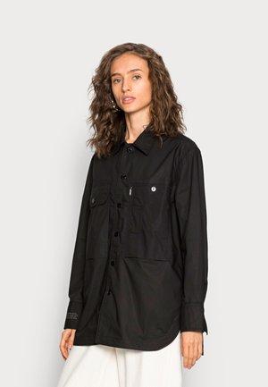 BOYFRIEND  - Button-down blouse - black
