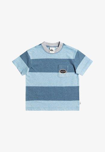 Print T-shirt - captain blue full charge