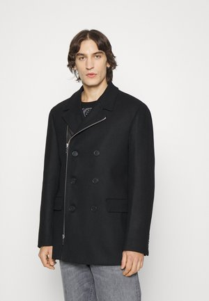 COAT - Halflange jas - black