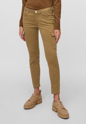 LULEA SLIM MID WAIST  - Slim fit jeans - desert camel