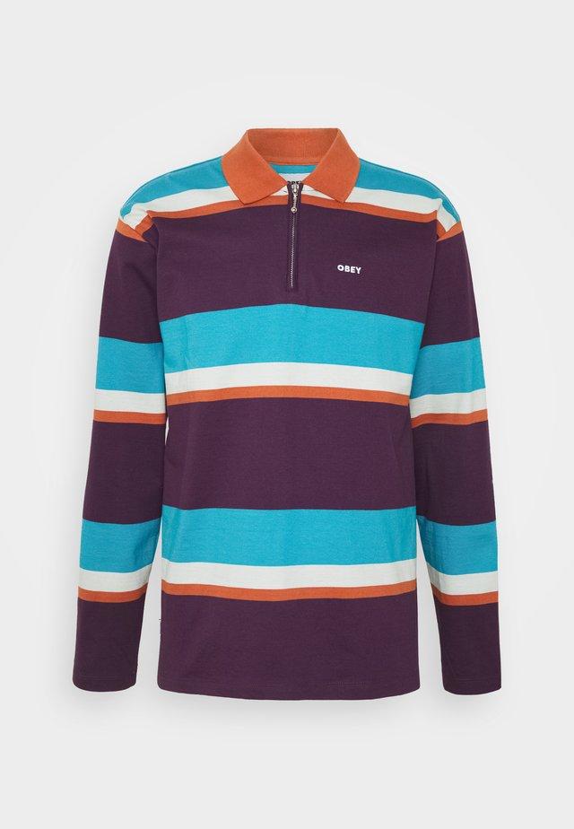STRUCTURE  - Polo shirt - purple multi
