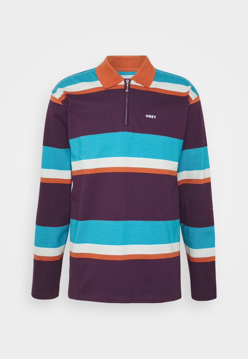 Obey Clothing - STRUCTURE  - Polo shirt - purple multi