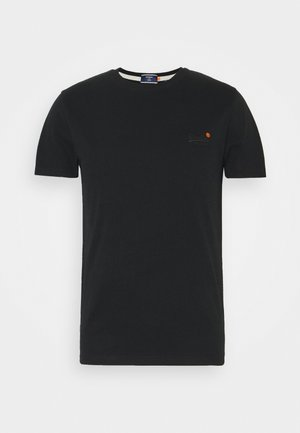 VINTAGE TEE - Basic T-shirt - black