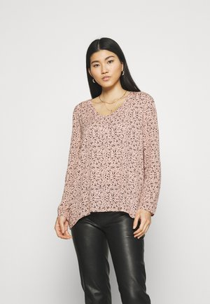 Blouse - pink/black