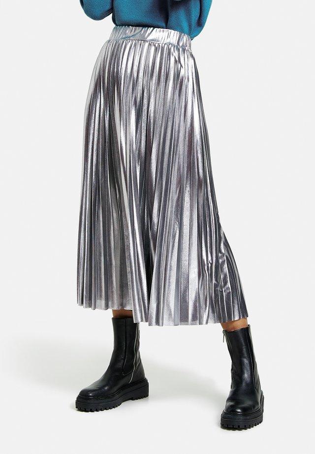 Jupe trapèze - anthra melange