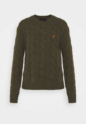 CLASSIC LONG SLEEVE - Sweter - loden heather