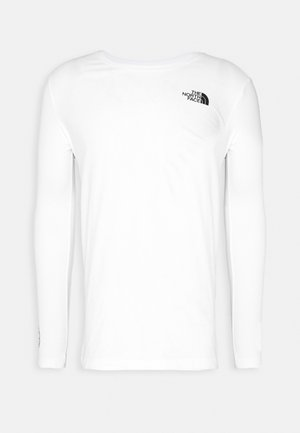 GEODOME TEE - Long sleeved top - white